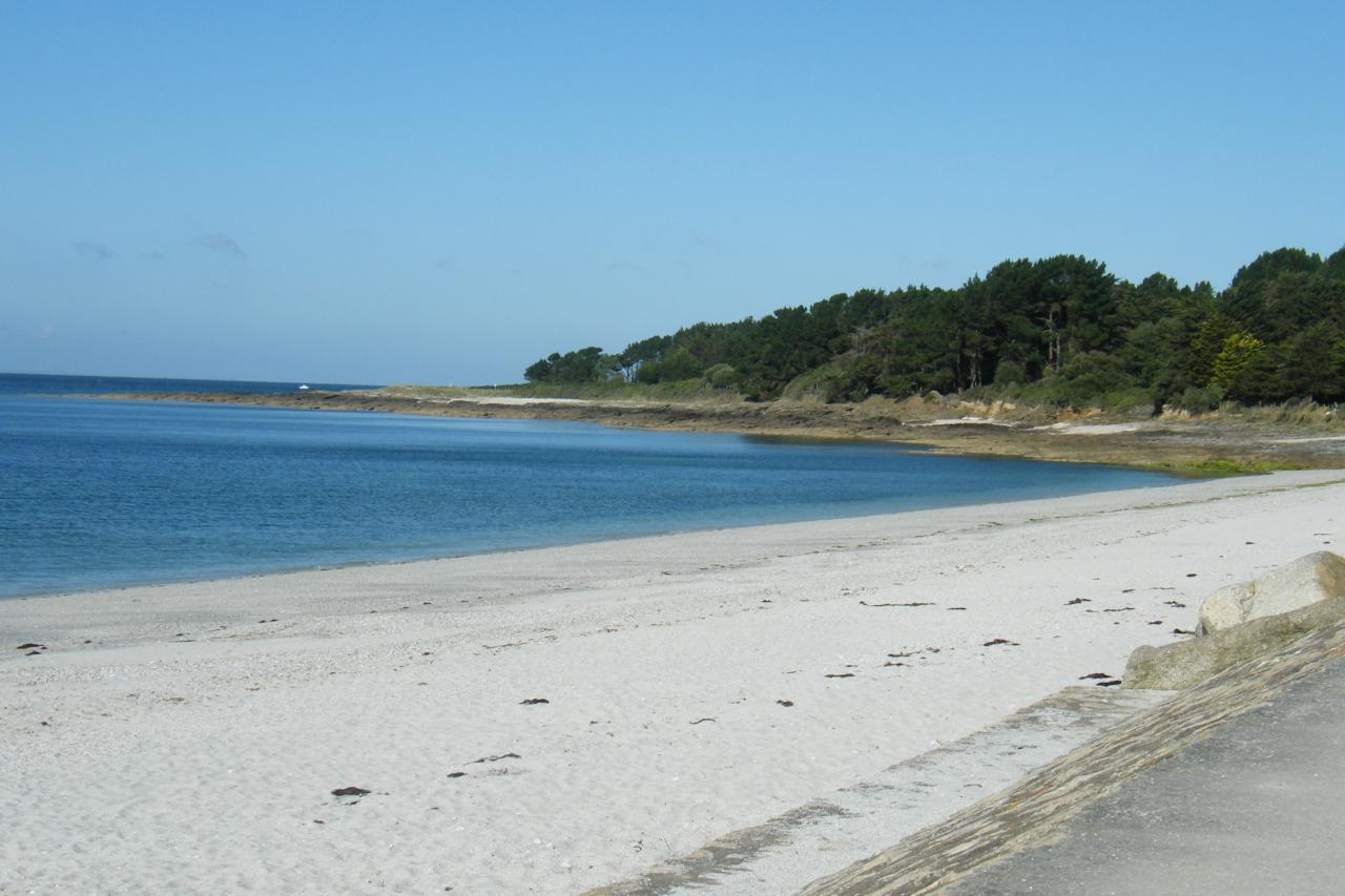 Plage du camping